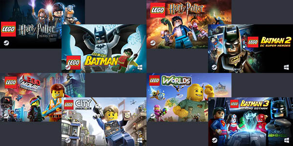 Humble LEGO Games Bundle