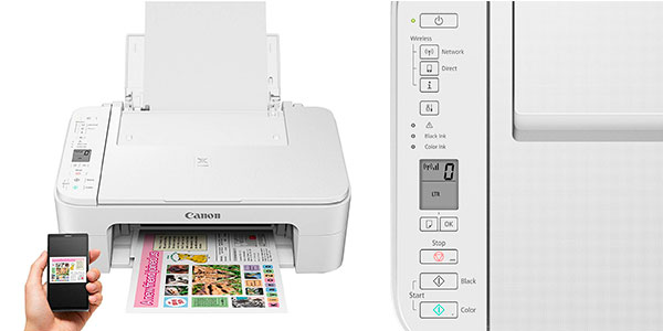 Impresora multifunción Canon Pixma TS3151 con Wi-Fi barata