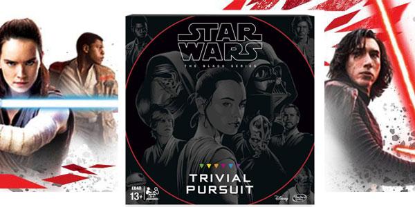 Trivial Pursuit Black Series Star Wars (Hasbro B8615105) chollazo en Amazon