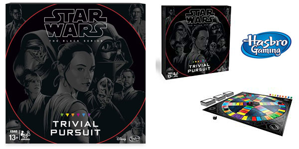 Trivial Pursuit Black Series Star Wars (Hasbro B8615105) barato en Amazon