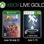 Juegos GRATIS con Gold junio de 2019 para Xbox One