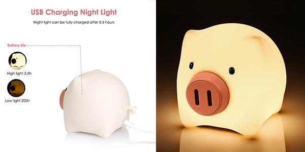 KidoME luz nocturna barata