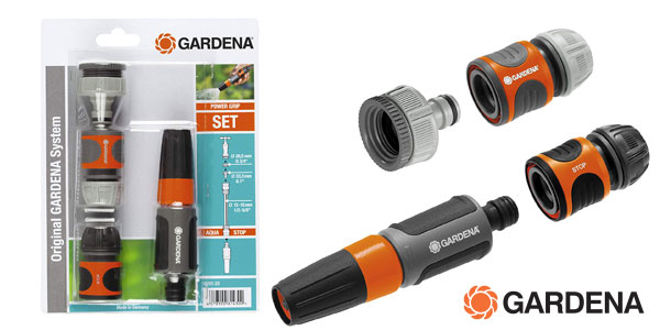 Kit básico de riego Gardena 18291-20 chollo en Amazon