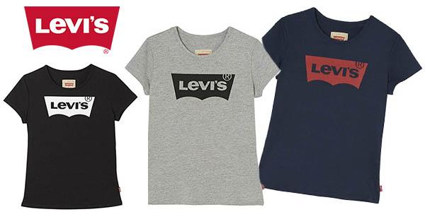 Levi's Kids Short Sleeves Batwin camiseta barata