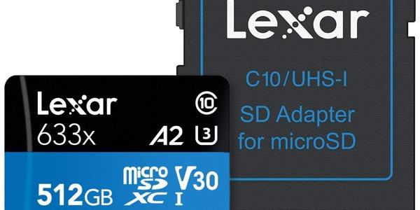 Lexar High-Performance 633x microSDXC de 512 GB barata