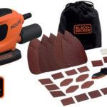 Lijadora BLACK+DECKER BEW230BC-QS + 15 accesorios y bolsa barata en Amazon