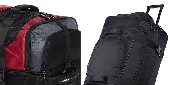 maleta para viajes largos AmazonBasics resistente chollo