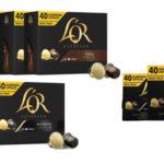 Maxi pack de 240 cápsulas de café Lor Forza Ristretto al mejor precio
