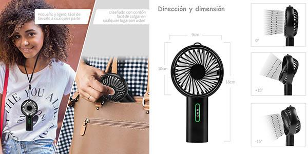 mini ventilador Lobkin relación calidad-precio estupenda