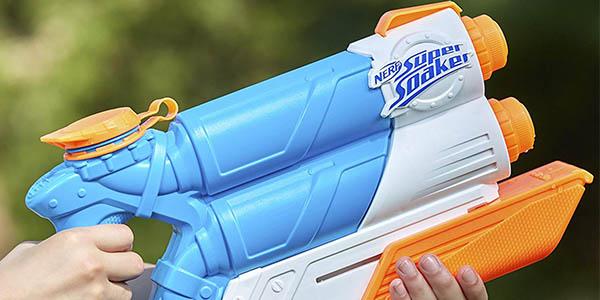 Nerf Supersoaker Twin Tide pistola de doble chorro oferta