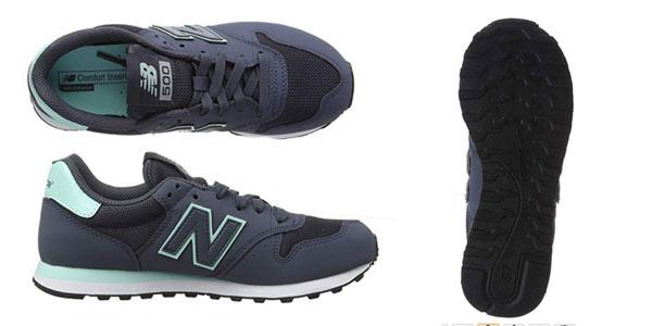 Zapatillas New Balance 500 para mujer rebajadas en Amazon