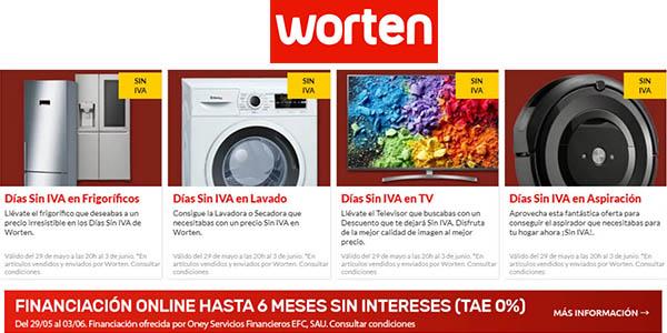 7366e6cd621 ofertas en el Día sin IVA en Worten en aspiración y electrodomésticos