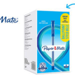 Pack 50 Bolígrafos Paper Mate azul 0,7 mm barato en Amazon