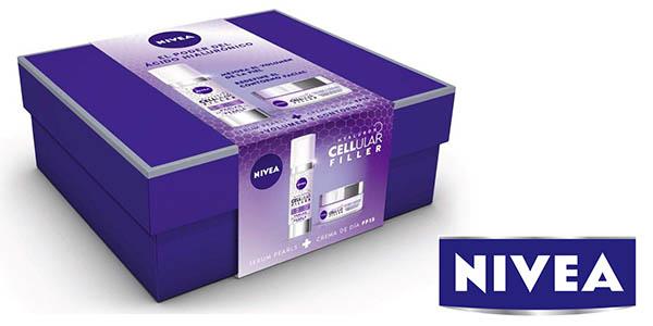 pack crema de día y sérum Nivea Hyaluron Cellular Filler barato