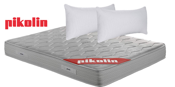 Pack Pikolin colchón viscoelástico espuma HR + canapé abatible + 2 almohadas visco chollazo en Amazon
