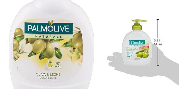 Palmolive gel de manos en formato dosificador con leche y aceite de oliva oferta