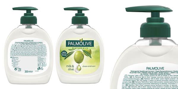 Palmolie leche y aceite de oliva gel de mano pack ahorro