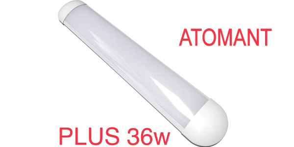 Luz LED con pantalla integrada Atomant Plus de 60 cm y 36 W barata en Amazon