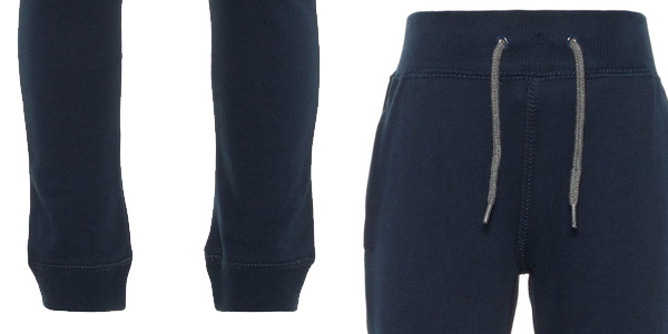 Pantalones deportivos NAME IT Nkmsweat Pant BRU para niños chollazo en Amazon
