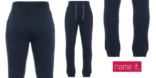 Pantalones deportivos NAME IT Nkmsweat Pant BRU para niños baratos en Amazon