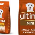 Paquete pienso seco 3 kg Affinity Ultima Pienso Mini Adult para perros de arroz con pollo barato en Amazon