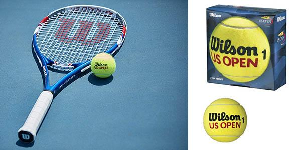pelotas de tenis Wilson US Open Adult chollo