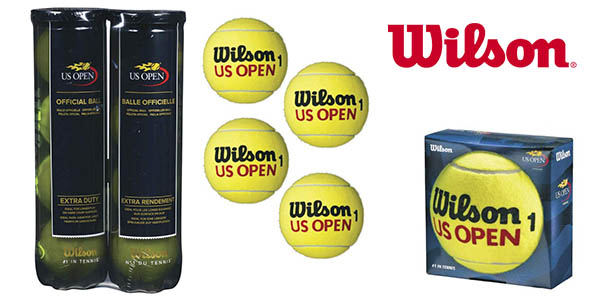 pelotas de tenis Wilson US Open baratas