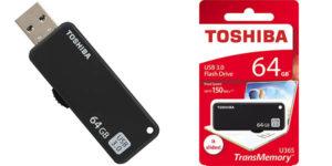 Pendrive Toshiba TransMemory U365 de 64GB USB 3.0