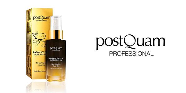 Aceite facial de Argán puro postQuam Radiance Elixir al mejor precio en Amazon