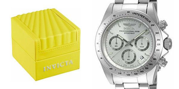 Reloj analógico unisex Invicta 14381 Speedway en acero inoxidable barato en Amazon