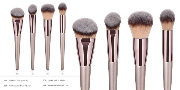Set 4 Brochas Everpert para Maquillaje Facial chollazo en Amazon