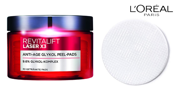Set duo Revitalift Laser X3 rutina Cuidado Facial Anti-Edad y Anti-manchas L 'Oréal Paris chollo en Amazon