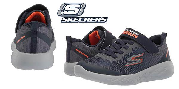 Skechers Go Run 600Farrox zapatillas infantiles baratas