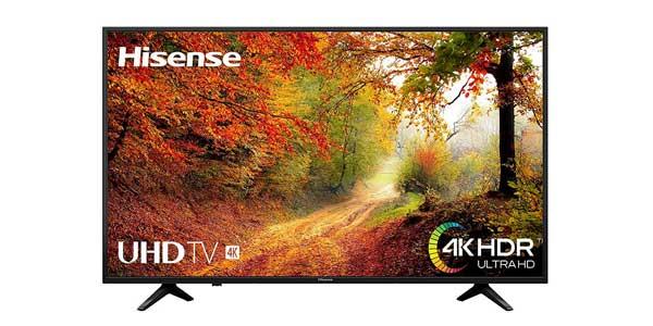 """Smart TV Hisense H50A6140 4K UHD de 50"""" barato en Amazon"""