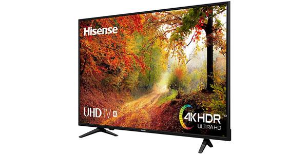 "Smart TV Hisense H50A6140 4K UHD de 50"" chollo en Amazon"