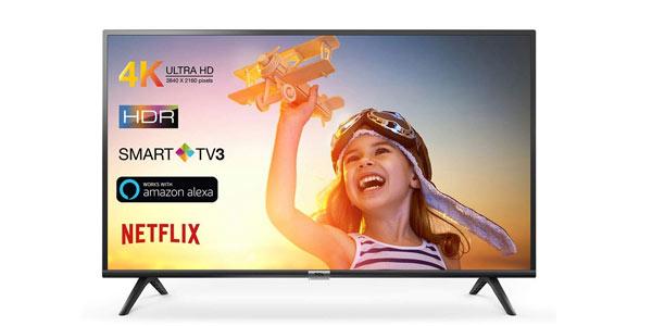 Smart TV TCL Serie 600 UHD 4k barata en Amazon