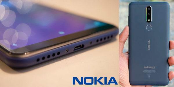 """Smartphone Nokia 3.1 Plus de 6"""" con Android One, 3 GB RAM y cámara dual barato"""