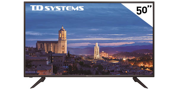 "Televisor LED TD Systems K50DLH8F de 50"" Full HD"