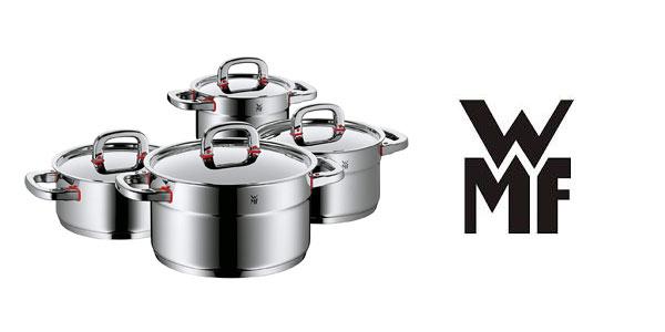 Batería de cocina WMF Premium One de 4 piezas barata en Amazon