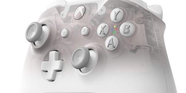 Mando Xbox One Bluetooth Phantom White barato