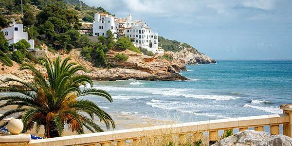 alojamiento en la playa de Sitges Barcelona barato