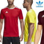 Camiseta deportiva manga corta adidas Entrada 18 para hombre barata en Amazon