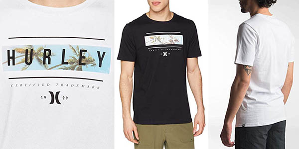camiseta Hurley Trister PRM Tee SS oferta