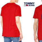Camiseta manga corta Tommy Jeans TJM Circle Graphic tee barata en Amazon