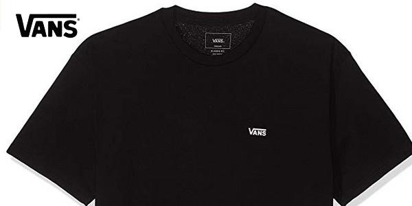 Camiseta manga corta Vans Left Chest Logo tee chollo en Amazon