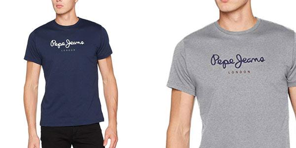 Camiseta Pepe Jeans Eggo para hombre barata en Amazon