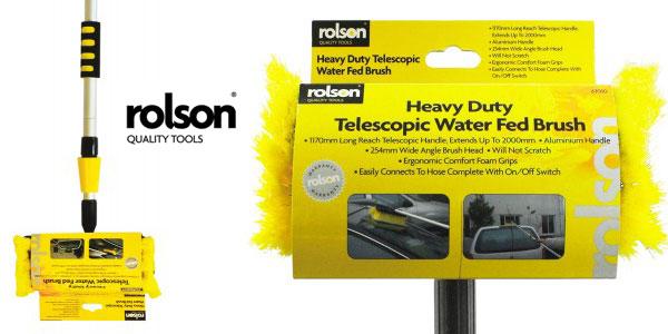 Cepillo telescópico Rolson 61010 de limpieza para coche chollo en Amazon