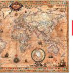Chollo Puzle Mapamundi Educa Borrás de 1.000 piezas