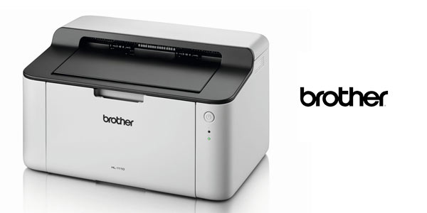 Impresora láser monocromo Brother HL-1110 en oferta en Amazon
