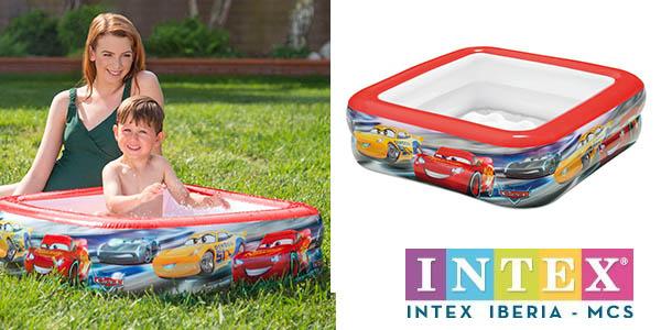 Intex piscina para bebés diseño de Cars oferta